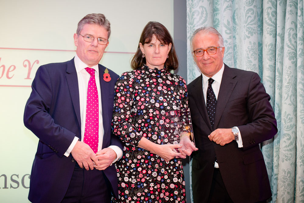 Helen Watson, Private Banker of the Year, Spear's Wealth Management Awards